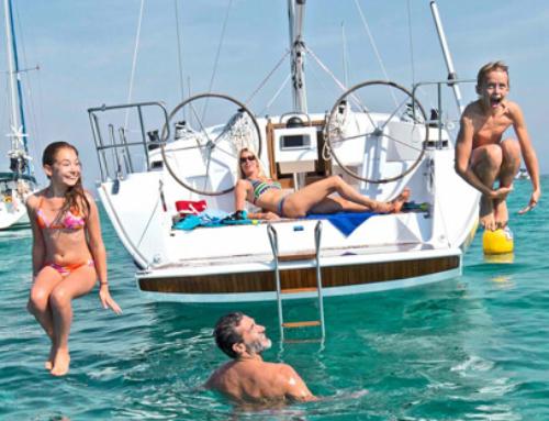 Flottielje zeilen, voor de één een uitvinding van het jaar, voor de ander een benauwend gevoel.